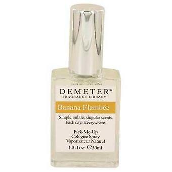 Demeter Banana Flambee von Demeter Köln Spray 1 Oz (Frauen)