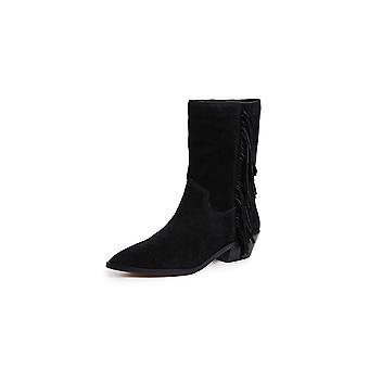 Rebecca Minkoff Womens Krissa Pointed Toe Mid-Calf Cowboy Boots