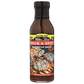 Walden Farms Sauce Bbq Cf Thick Spicy, Case of 6 X 12 Oz