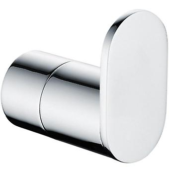 Stainless Steel Round Wall Mounted Towel Ring Robe Hook