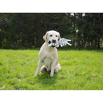 Rosewood Jolly Doggy Zebra Plush Dog Toy