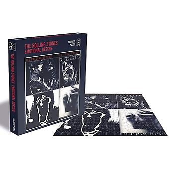 The Rolling Stones Emotional Rescue Jigsaw Puzzle (500 Pieces)