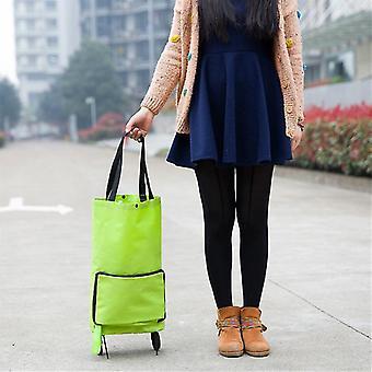 Folding Shopping Bag Shopping Buy Food Trolley Bag on Wheels Bag Buy Vegetables Shopping Organizer