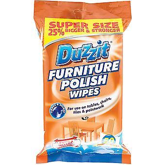 Duzzit Furniture Polish Wipes 32 Pack