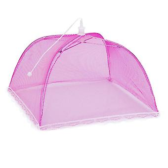 2 Large Pop-up Mesh Screen Protect Food Cover Tent Dome Net Umbrella Picnic