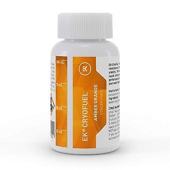 EK Water Blocks EK-CryoFuel Amber Orange Concentrate 100 ml