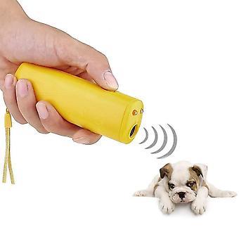 כלב מחמד דוחה משרוקית נגד נביחות להפסיק לנבוח מכשיר אימון