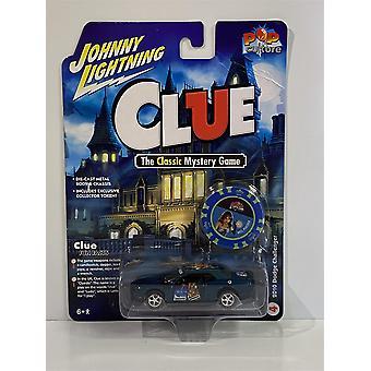 Clue 2010 Dodge Challenger with Token 1:64 Johnny Lightning JLPC003