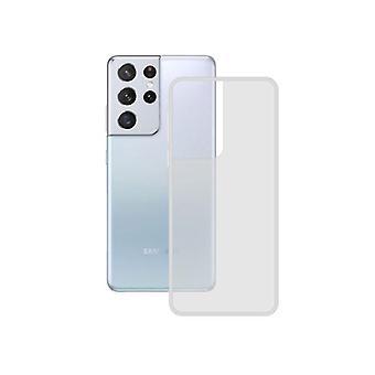 Mobil sag Samsung Galaxy S21 Ultra Kontakt TPU Transparent