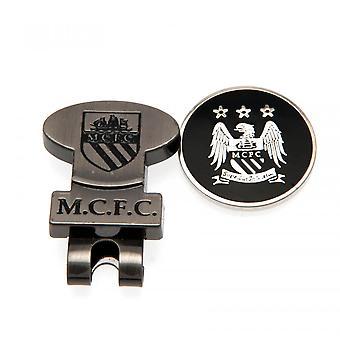 Manchester City FC Hat Clip & Marcador