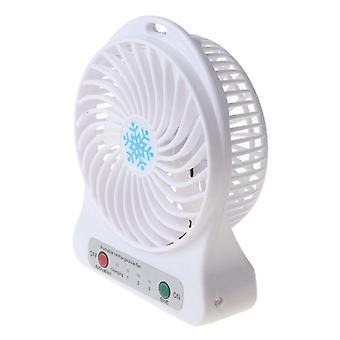 Mini fans air cooler mini desk usb fan  rechargeable abs portable