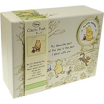 Winnie La boîte à souvenirs de bébé ourson