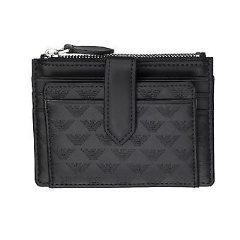 Emporio Armani Men Wallet    Black