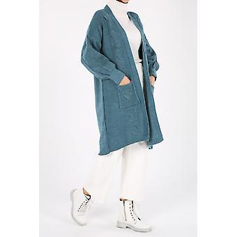 Comfortabel knitwear vest met zakken