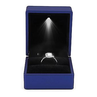 Led Lighted Ring Box Earring Ring Gift Case Wedding Ring Jewelry