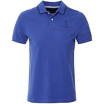 Clásico de Hackett forma numerada camiseta Polo