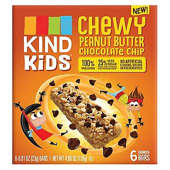 Kind Kids Chewy Peanut Butter Chocolate Chip Granola Bars