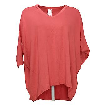 WynneLayers Women's Top V-Neck Slouchy Pink 741470