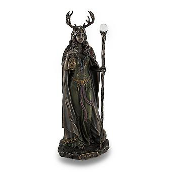Elen der Wege Bronze-Finish Statue heidnischen Göttin