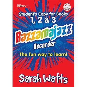 Razzamajazz Recorder - Studentböcker 1, 2 & 3
