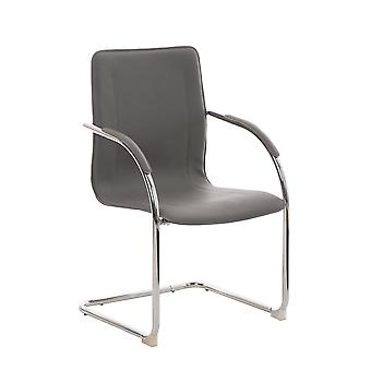 Chaise de bureau - Chaise de bureau - Bureau à domicile - Moderne - Gris - Métal