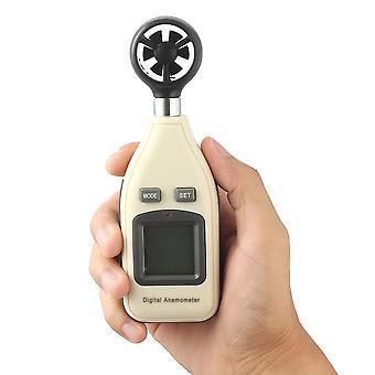 ミニデジタルハンドヘルド風速計スケール風速計温度計