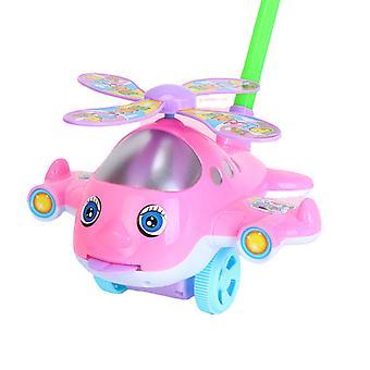 Baby Push und Pull Spielzeug Lustiges Flugzeug