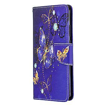 Huawei P40 Pro Fall Muster lila Schmetterling