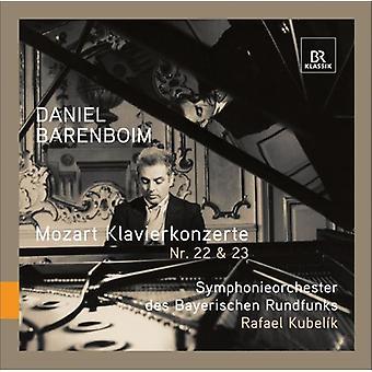 W.a. Mozart - Mozart: Klavierkonzerte Nr. 22 & 23 [CD] USA import