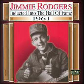 Jimmie Rodgers - 1961-Country Music Hall of import USA Fam [CD]