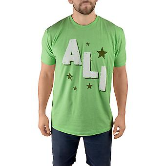 Title Boxing Ali Rumble Premium Fitted Legacy T-Shirt - Apple Green