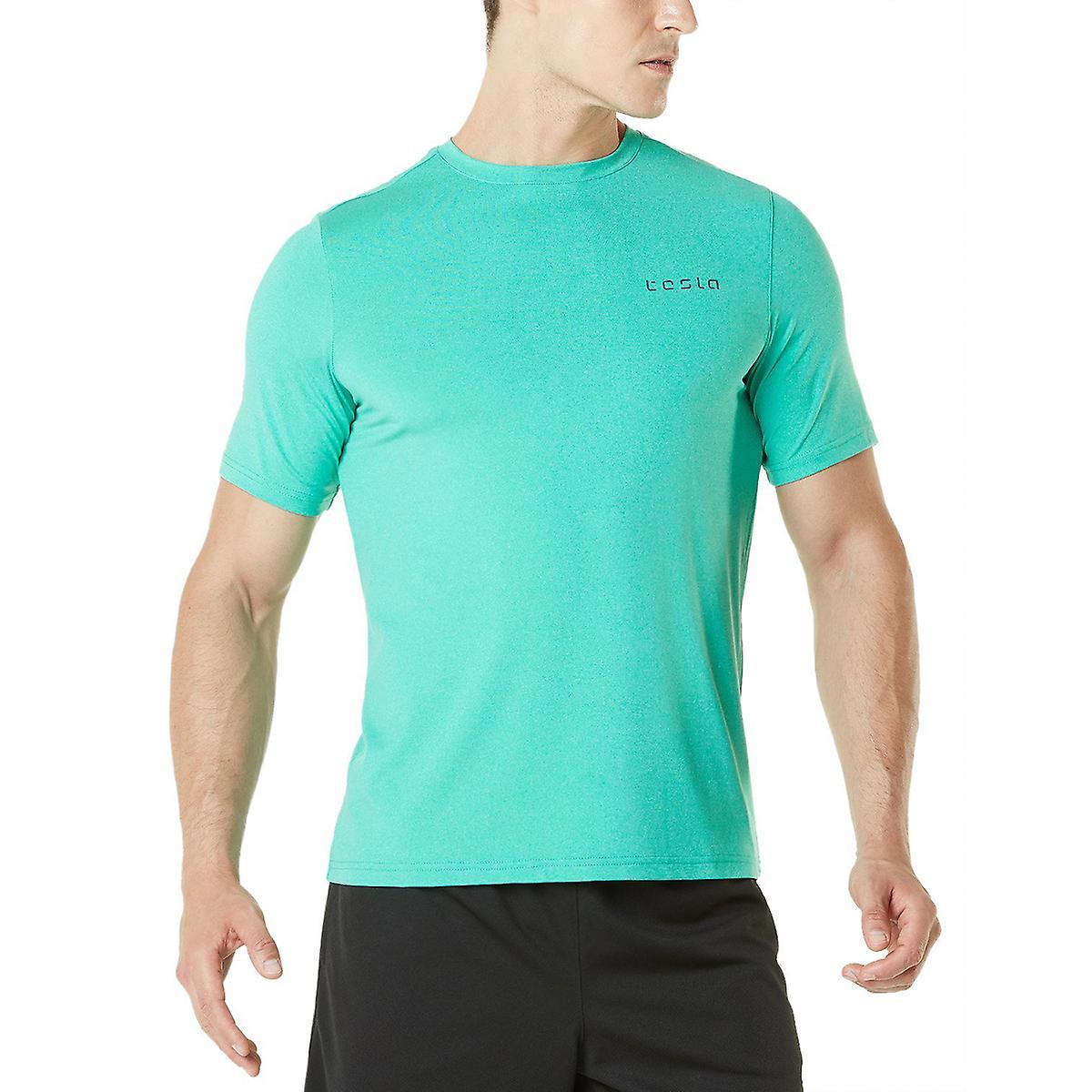 TSLAS Tesla MTS04 HyperDri kort ermet atletisk T skjorte