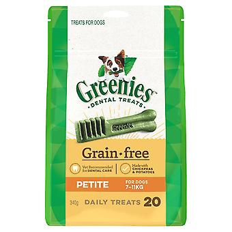 Greenies grão pequeno deleite livre Pk340g