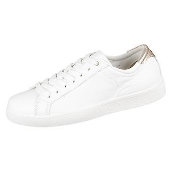 Tamaris White Rose Metallic Mix Leder Synthetik 12363120154 universal all year women shoes