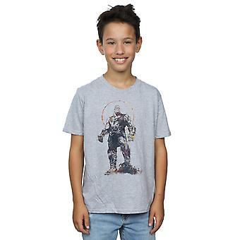 Marvel Boys Avengers Infinity Savaş Thanos Sketch T-Shirt