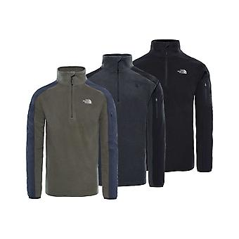 North Face Mens Glacier Delta 1/4 Zip Fleece