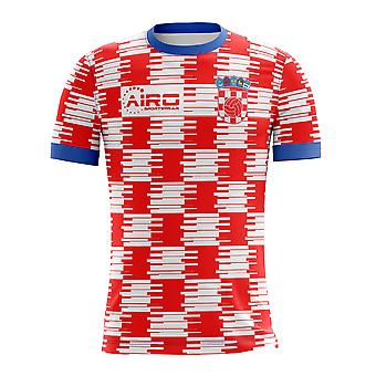 2020-2021 Kroatien Home Concept Fußball Shirt - Baby