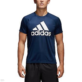 Adidas D2M logo BK0938 universální Pánské tričko