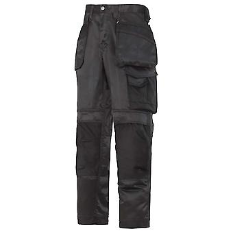 Snickers Mens Craftsmen Dura Twill Workwear Trousers With Knee Pad Pockets
