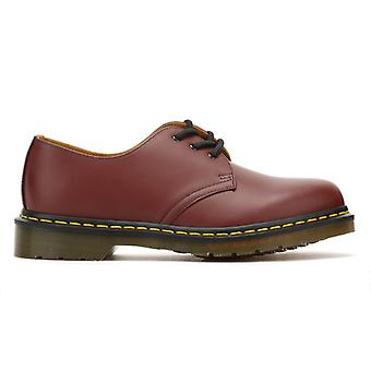 Dr. Martens 1461 Cherry Red Leather Shoes