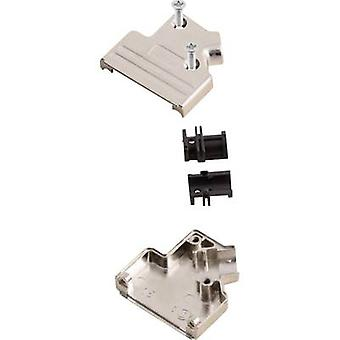 MH Connectors MHDVSL25-K D-SUB housing Number of pins: 25 Metal 45 ° Silver 1 pc(s)