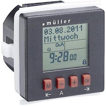 Müller SC 24.10 pro Cronometru de montare panou frontal digital 230 V AC 8 A/250 V