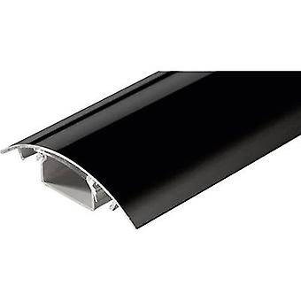 Alunovo SC90-100 Cable duct (L x W x H) 1000 x 80 x 20 mm 1 pc(s) Black (glossy)