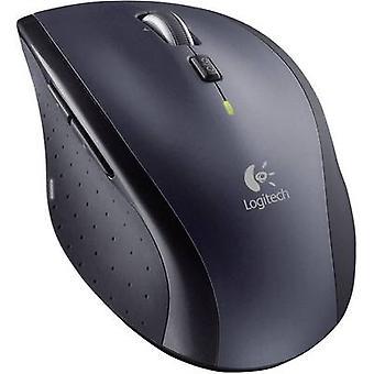 Logitech M705 Marathon Wireless mouse Laser Ergonomic Black/silver