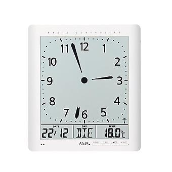 digital wall clock radio AMS - 5896