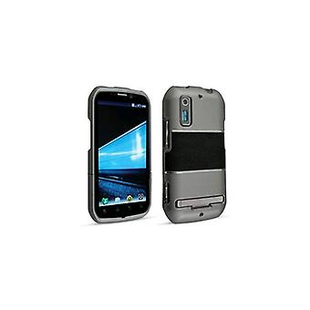 Technocel Accent Shield Cover voor Motorola Photon 4G MB855 - grijs