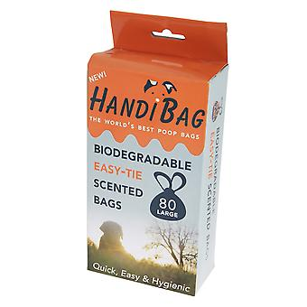 Handipet Handiscoop Biodegradable Scented Dog Waste Bags (Pack Of 80)