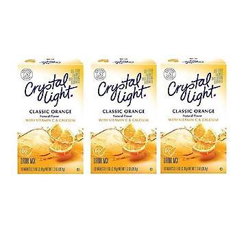 Crystal Light On The Go Sunrise Classic Orange Sugar Free Soft Drink Mix 3 Pack
