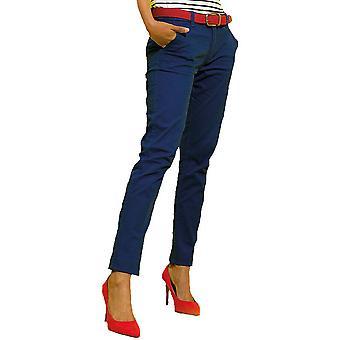 Regard extérieur Womens Milo Classic occasionnels Chino doux pantalon