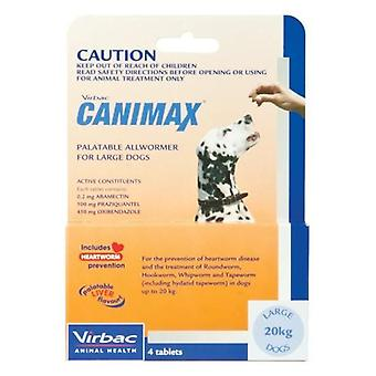 Canimax Lge 20kg 4pack